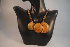 Picasso Jasper Pendant Necklace