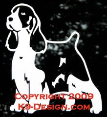English Springer Spaniel Standing Decal
