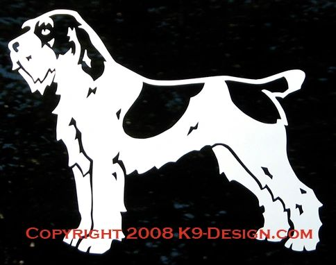 Spinone Italiano Standing Decal