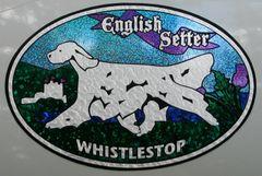 """Custom XL Oval """"Scottish Heritage"""" : Any Breed, Any Custom Text"""