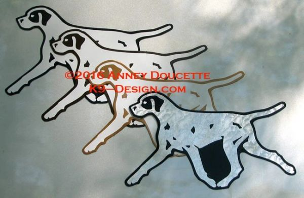 Pointer Trotting Magnet - Choose Color