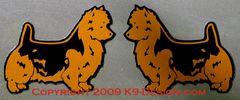 Australian Terrier Standing Magnet