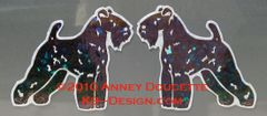 Kerry Blue Terrier Standing Magnet