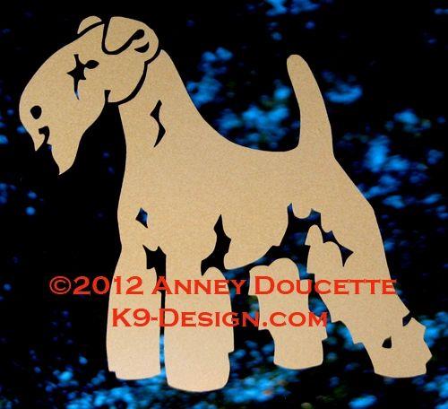 Lakeland Terrier Standing Decal