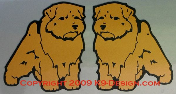 Norfolk Terrier Standing Magnet
