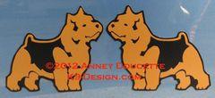 Norwich Terrier Standing Magnet