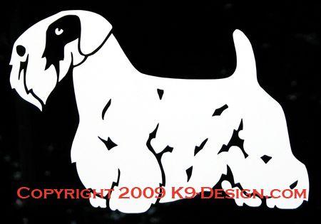 Sealyham Terrier Standing Decal
