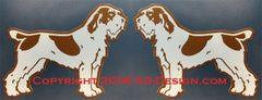 Spinone Italiano Standing Magnet - Choose Color