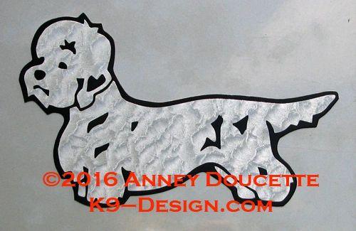 Dandie Dinmont Terrier Standing Magnet