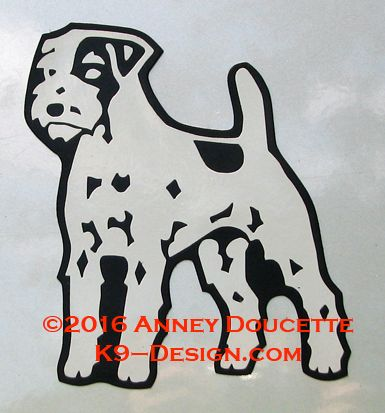 Parson Russell Terrier Standing Magnet