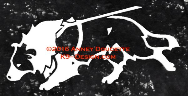 Border Collie Tracking Decal