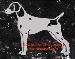 German Shorthaired Pointer Stacked Decal