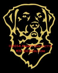 Chesapeake Bay Retriever Headstudy Decal