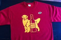 "Golden Retriever ""WINEY BITCH"" Sweatshirt"