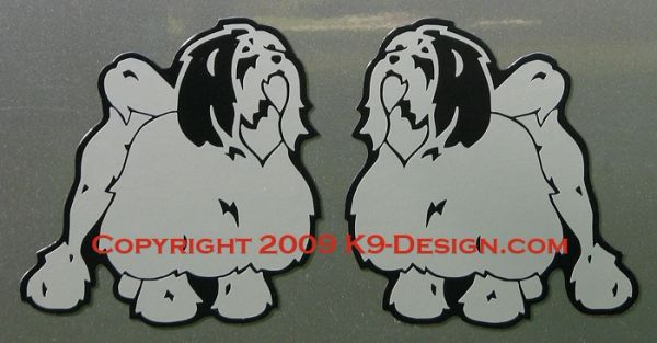 Lowchen Standing Magnet - Choose Color