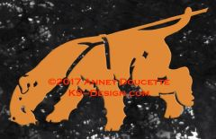 Lakeland Terrier Tracking Decal