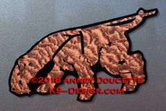 Lakeland Terrier Tracking Magnet