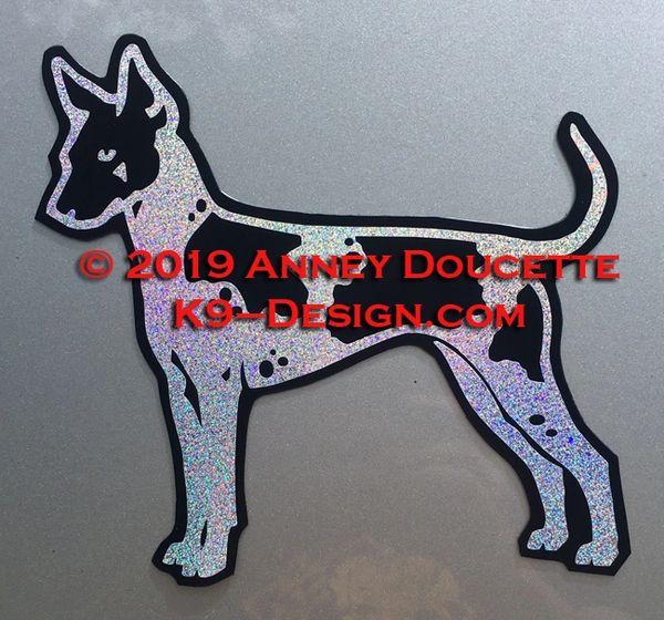 American Hairless Terrier Standing Magnet