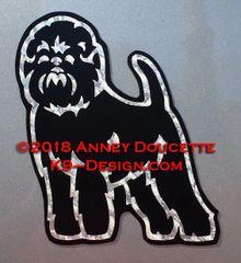 Affenpinscher Standing Magnet
