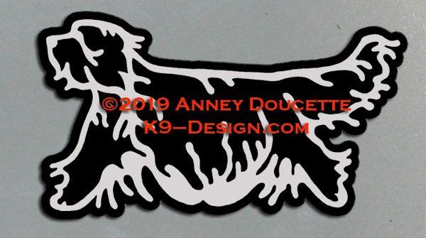 Bergamasco Trotting Magnet