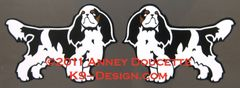 English Toy Spaniel Magnet - Choose Options