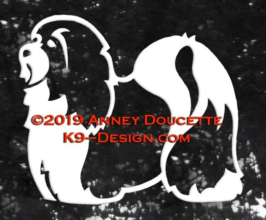 Havanese Standing 2015 Decal