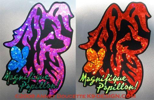 Magnifique Papillon! Large Magnet - Choose Colors