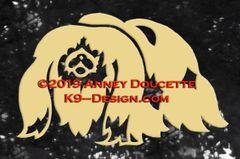 Pekingese Decal - Choose Color