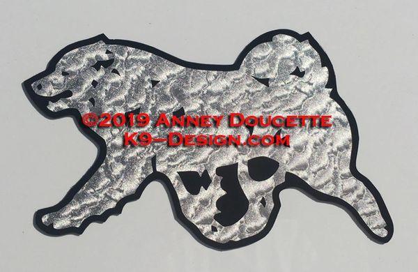 Samoyed Trotting Magnet