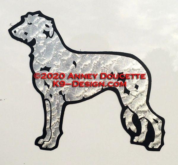 Scottish Deerhound Standing Magnet - Choose Color