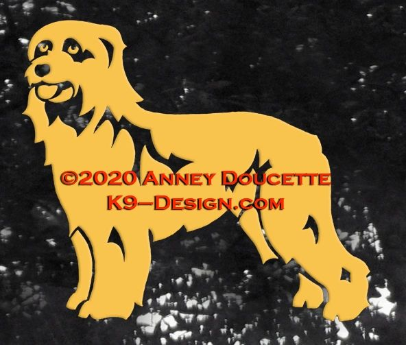 Pyrenean Shepherd Decal - Choose Color