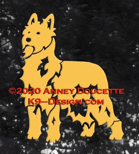 Berger Picard Decal - Choose Color