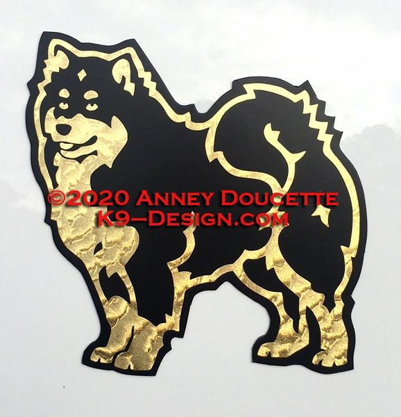 Finnish Lapphund Magnet - Choose Color