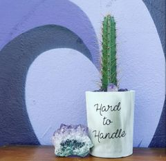 Cement Planter - Hard To Handle