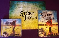 THE STORY OF JESUS SET (cd/dvd/book)