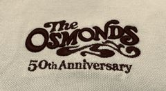 Tan Osmond 70's logo polo shirt (2X, 4X, 5X only)