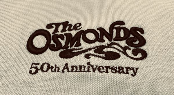 Tan Osmond 70's logo polo shirt (4X & 5X only)
