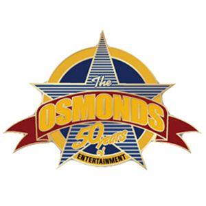 PIN: 50th Anniv. Logo Pin - The Osmonds