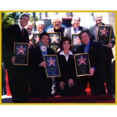 PIN: Hollywood Walk of Fame - Osmond Family Photo