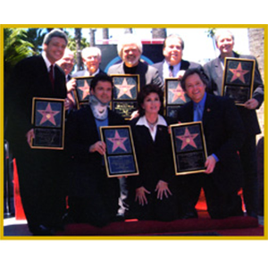 PIN: Hollywood Walk of Fame - Osmond Family Photo
