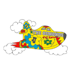 PIN: Osmonds Cartoon Plane