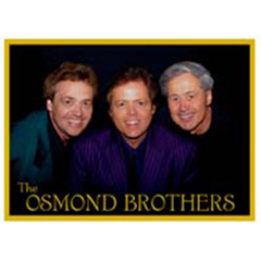 PIN: The Osmonds - Jay, Jimmy, Wayne (3 bros)
