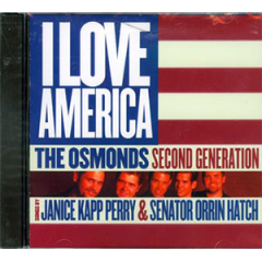 The Osmonds Second Generation: I Love America CD