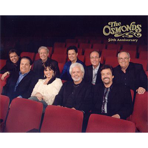 PHOTO: Osmond Family 50th Anniv (unsigned)