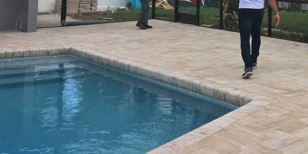 At Modern Pool Cage Painting, we have many years of experience in the paving business.