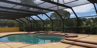Modern PCP is the second business to specialize in pool enclosure painting & restoration in Florida.