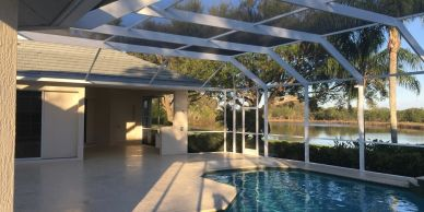 learn more about pool screen price and pool cage design with the best company in Florida