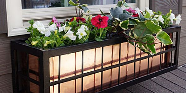Wrought Iron Window Boxes