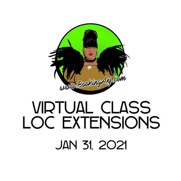 VIRTUAL CLASS - JAN 31
