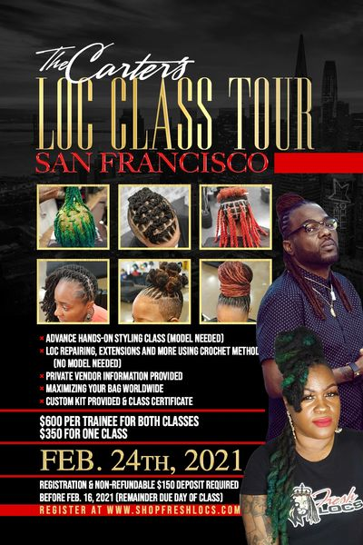SAN FRANCISCO GROUP CLASS - DEPOSIT ONLY